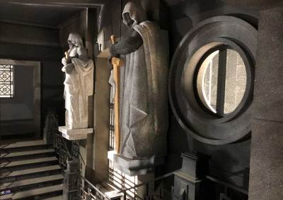 Esculturas de la Casa de Papel 3.