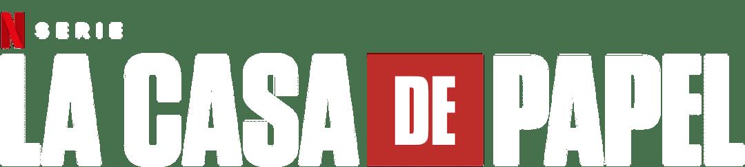 Logo de la casa de papel en netflix temporada 3