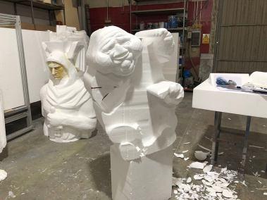 Escultura fantasma talla