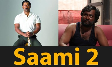 boby simha is a villan in saamy2