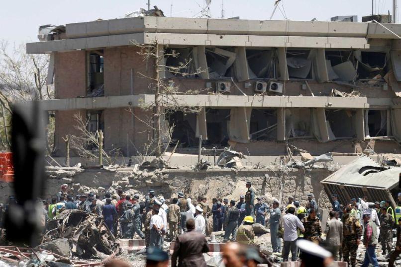 afghanistan bomb blast in kabul
