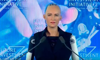 SAUDI Arabia has become the first country to grant a robot citizenship