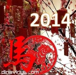 ucapan selamat tahun imlek kuda 2014