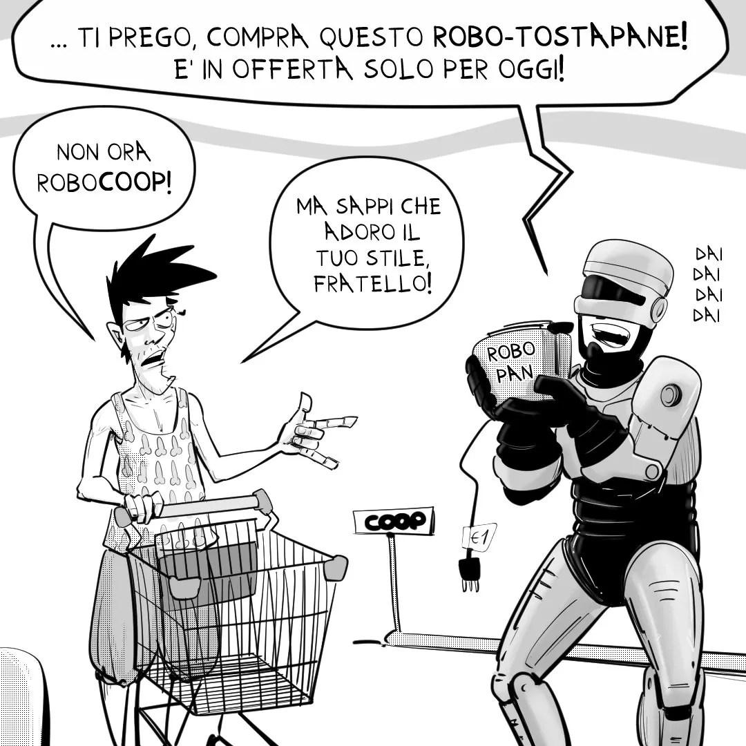 #robocoop dinaz.it blog a fumetti