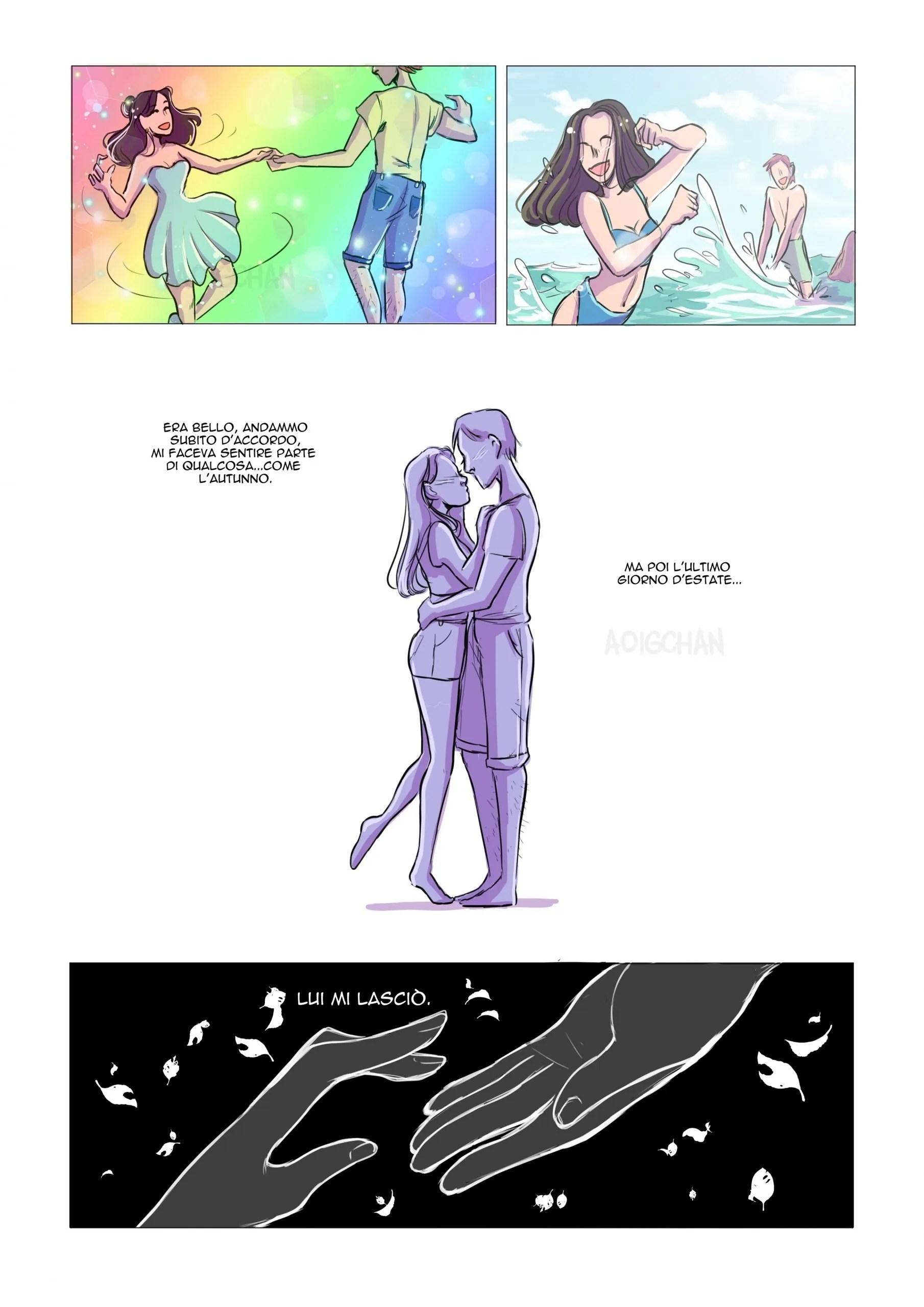 odiavo l'autunno aoig spazzi dinaz.it blog a fumetti