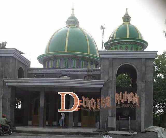 Kubah Grc Murah Untuk Masjid Minimalis Modern Dindingrumah