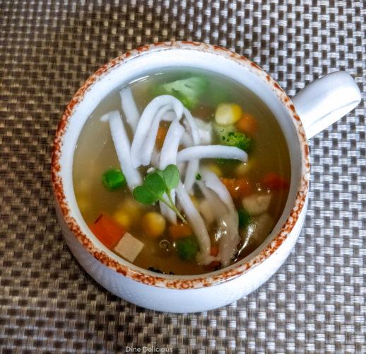 Corn & Coconut Soup