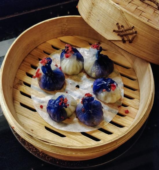 Asparagus & Waterchestnuts Dumplings