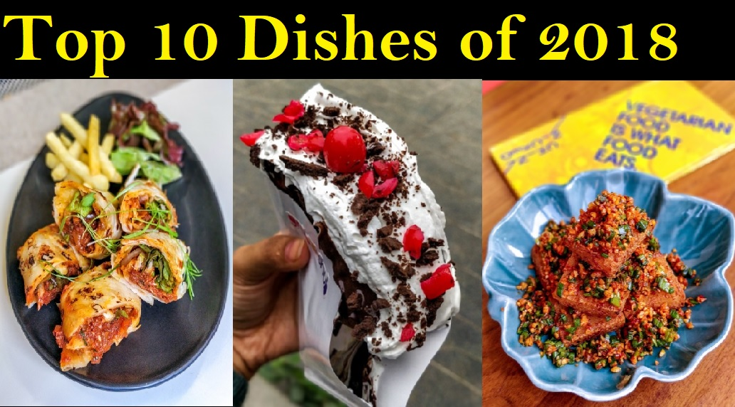 Top dishes of 2018