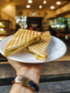Grilled Sandwich Irani Cafe