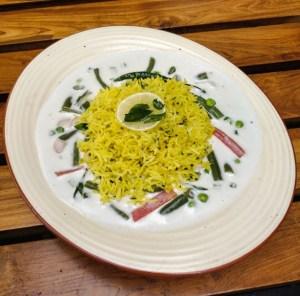 Kerala Stew with Lemon Rice