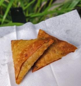 Veg Samosa Irani Cafe