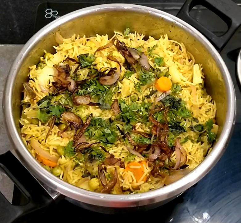 Biryani Recipe in Cooker