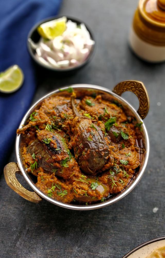 Bharli Vangi Recipe