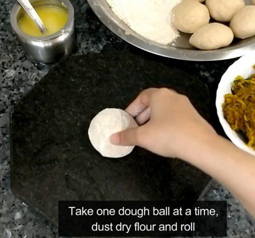 Indian Wheat Bread