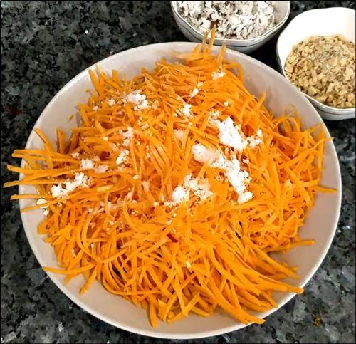 Carrot Beetroot Salad