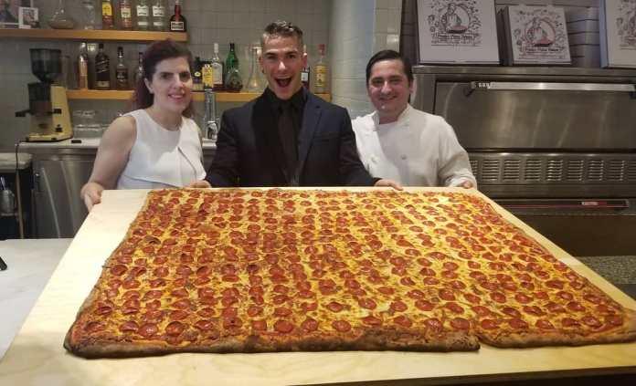 Largest pizza