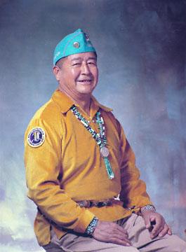 Navajo Code Talker Sidney Bedoni (Courtesy photo)