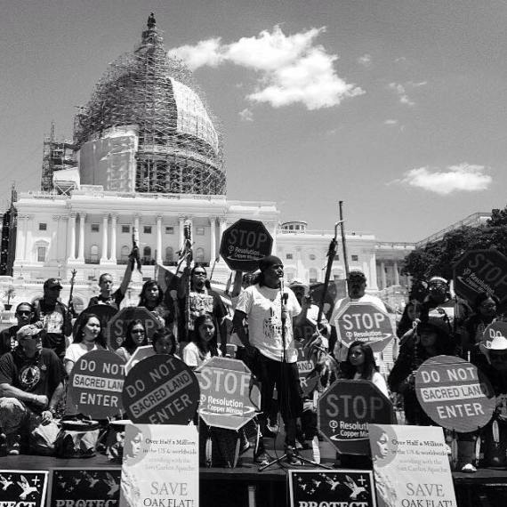 Apache Stronghold at Washington, D.C. Courtesy photo.