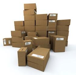 Emballages cartons pour l'industrie