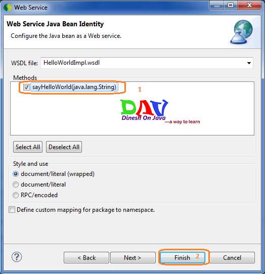 JAX-WS Web Service Example Using Eclipse(STS) - Dinesh on Java