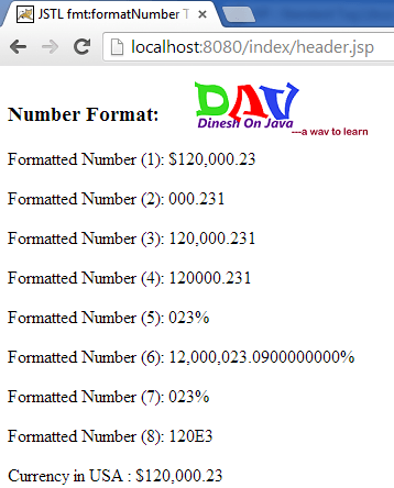 2222 Java Currency Format Example on sap display, mask for exact, word table,