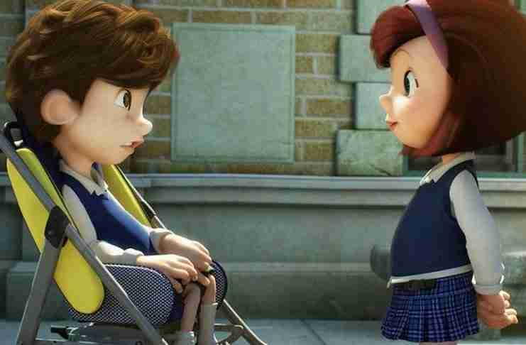 Αποτέλεσμα εικόνας για O Νικόλας ένα «αλλιώτικο» αγόρι και η Μαρία γίνονται φίλοι
