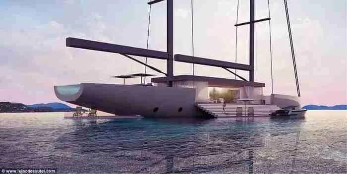 Το πλωτό παλάτι των ωκεανών: Ένα γιοτ με γυάλινους τοίχους!