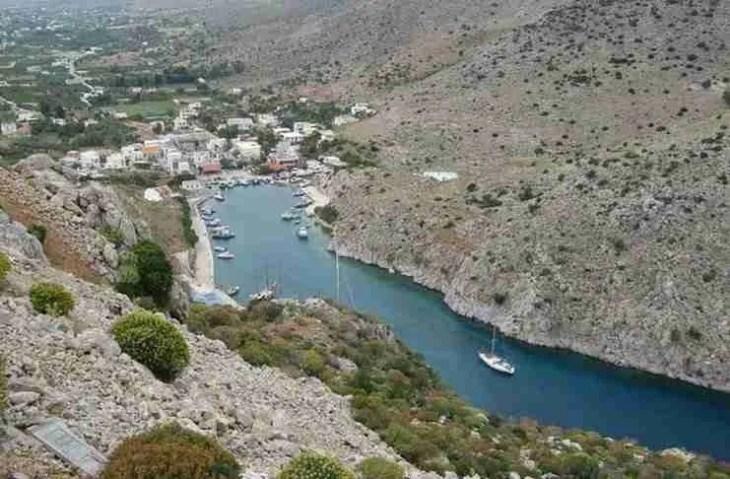 Το ωραιότερο φιορδ της Ελλάδας βρίσκεται σε ένα μικρό ακριτικό νησί!