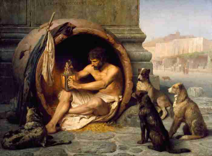 Ο διάλογος του Μέγα Αλέξανδρου με τον Διογένη που θα σε διδάξει πολλά