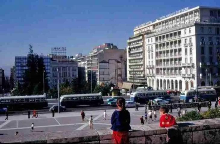 21 αριστουργηματικές έγχρωμες φωτογραφίες από την παλιά Αθήνα...