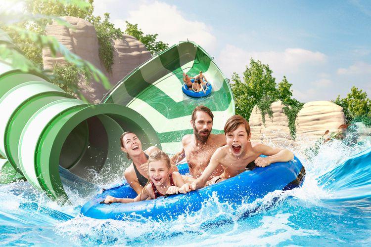 2 tickets voor Bellewaerde Aquapark in België