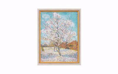 Vincent van Gogh 'De roze perzikboom'