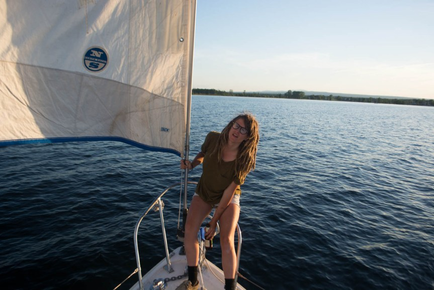 live aboard sailor girl, solo sailor, single handed