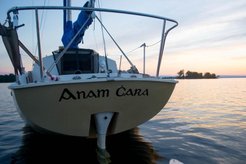 Bristol 24, live aboard, solo sailor girl