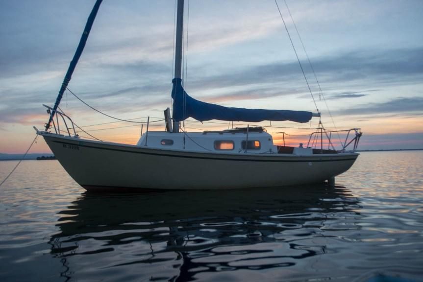 Bristol 24, live aboard, lake champlain