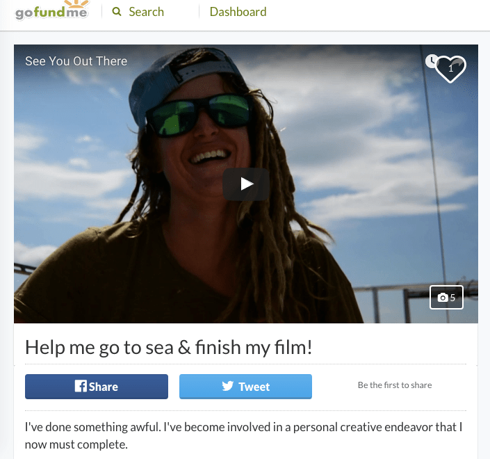 single handed sailor girl, crowdfunding sailing adventure, short sailing film