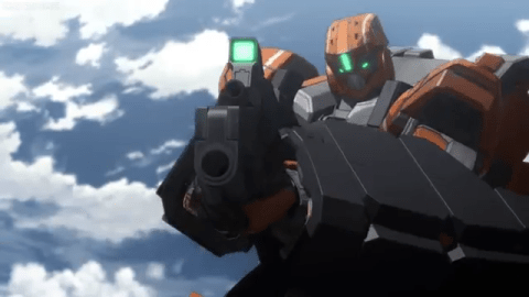 Aldnoah.Zero Mecha Fight