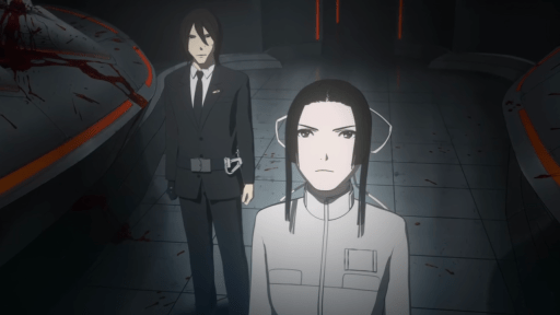 Captain Kobayashi in Knights of Sidonia: Battle for Planet Nine