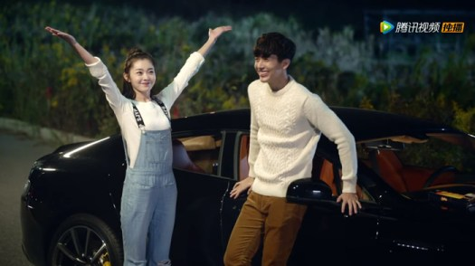 Song Yi and Pusch Puttichai Kasetsin in Stairway to Stardom