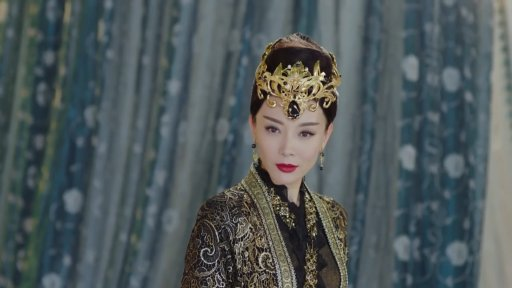 """Chen Shu as Empress Tanhai Youxue in """"Fighter of the Destiny"""""""