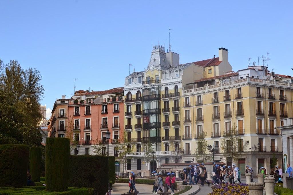 24 Hours in Madrid Plaza del Oriente