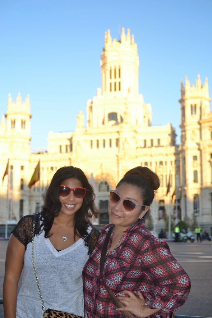 24 Hours in Madrid with friends