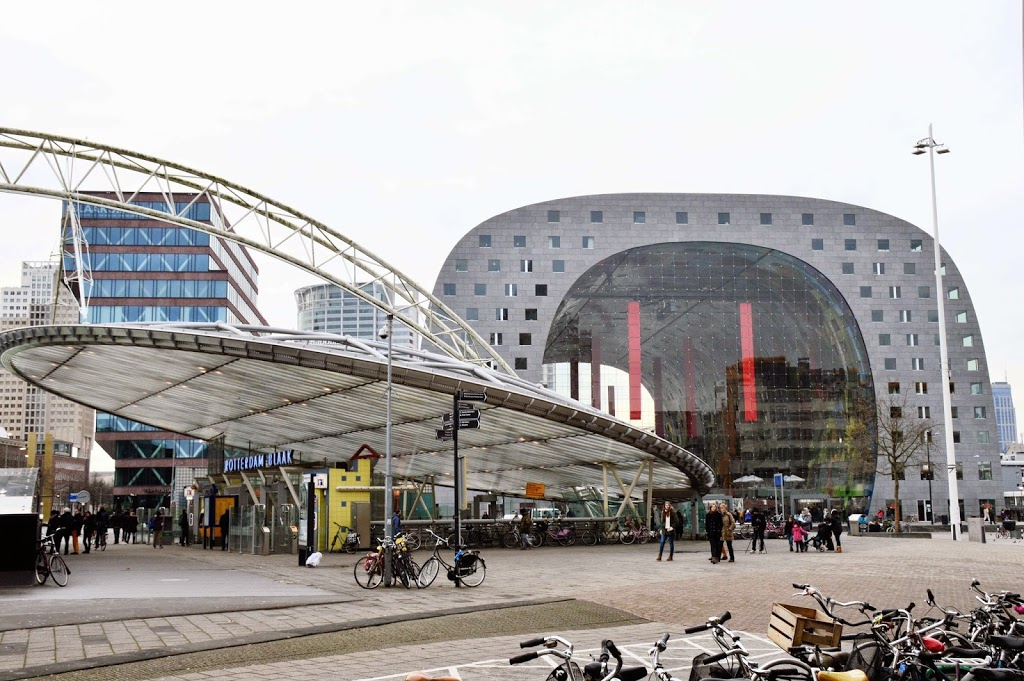 Markthal: Modern Food Market In The Heart of Rotterdam