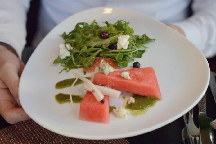 Water and Wall Salad