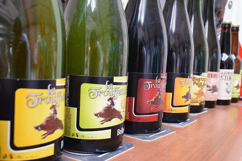 Brasserie de Bastogne Belgian Beer