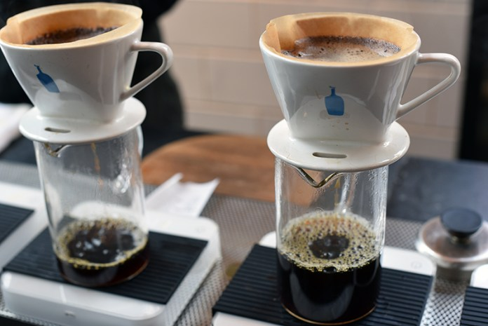 New York City Food Markets Coffee at Gotham West