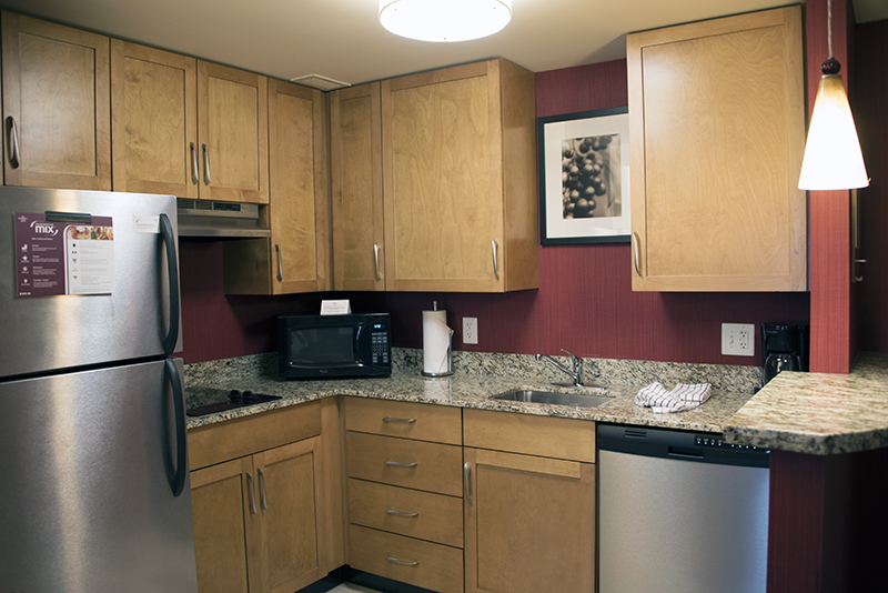 Where to stay in Arlington Residence Inn Capital View Room Kitchen