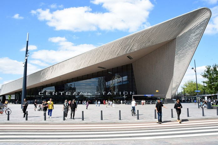 Getting Around in Holland, Rotterdam Centraal Station