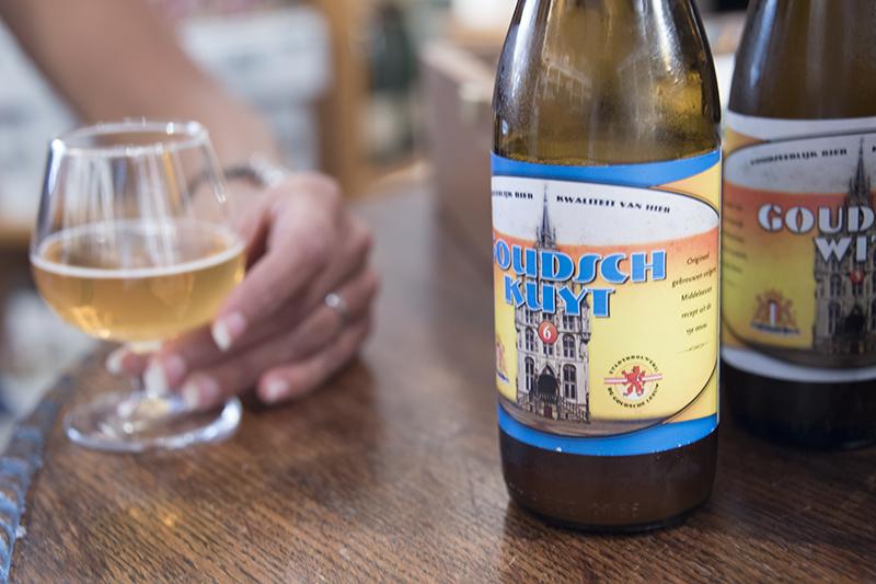 Beer brewed in Gouda Day in Gouda